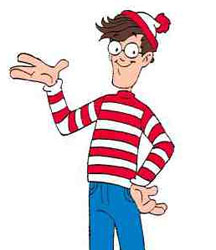 Or Waldo, if you like that kind of thing