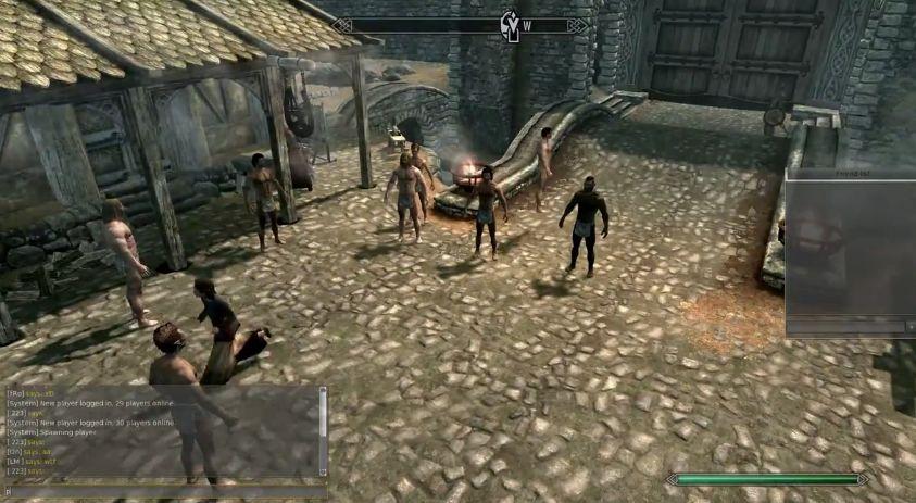 Skyrim - The Elder Scrolls Online Multiplayer - YouTube