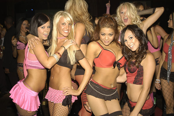 Sleazy Halloween Costume Girls Gone Wild - Clubplanet