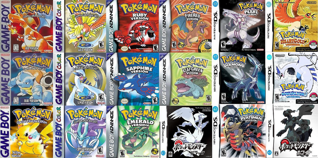All Pokemon Versions