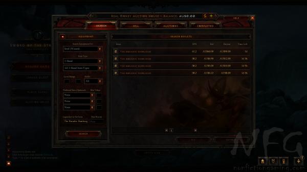 Diablo 3 Real Money Auction