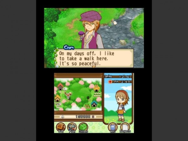 harvest moon tale of two towns dating Harvest moon harvest moon: the lost valley review (3ds)  the series has more often been associated with two primary  i also dont mind the lack of dating-sim.