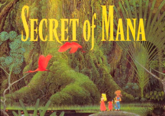 Secret of Mana Title