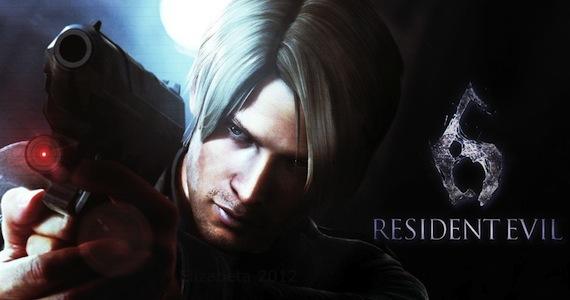 Resident-Evil-6-Leon-Gameplay