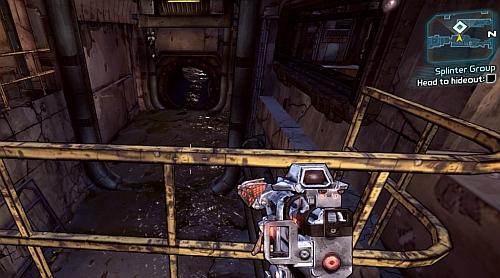 bloodshot sewer tunnel