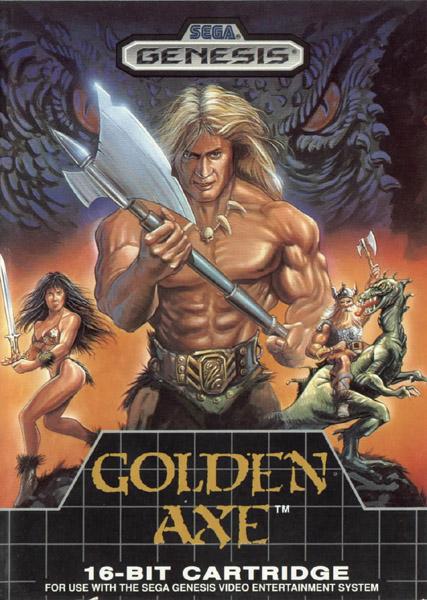 Golden Axe sega genesis