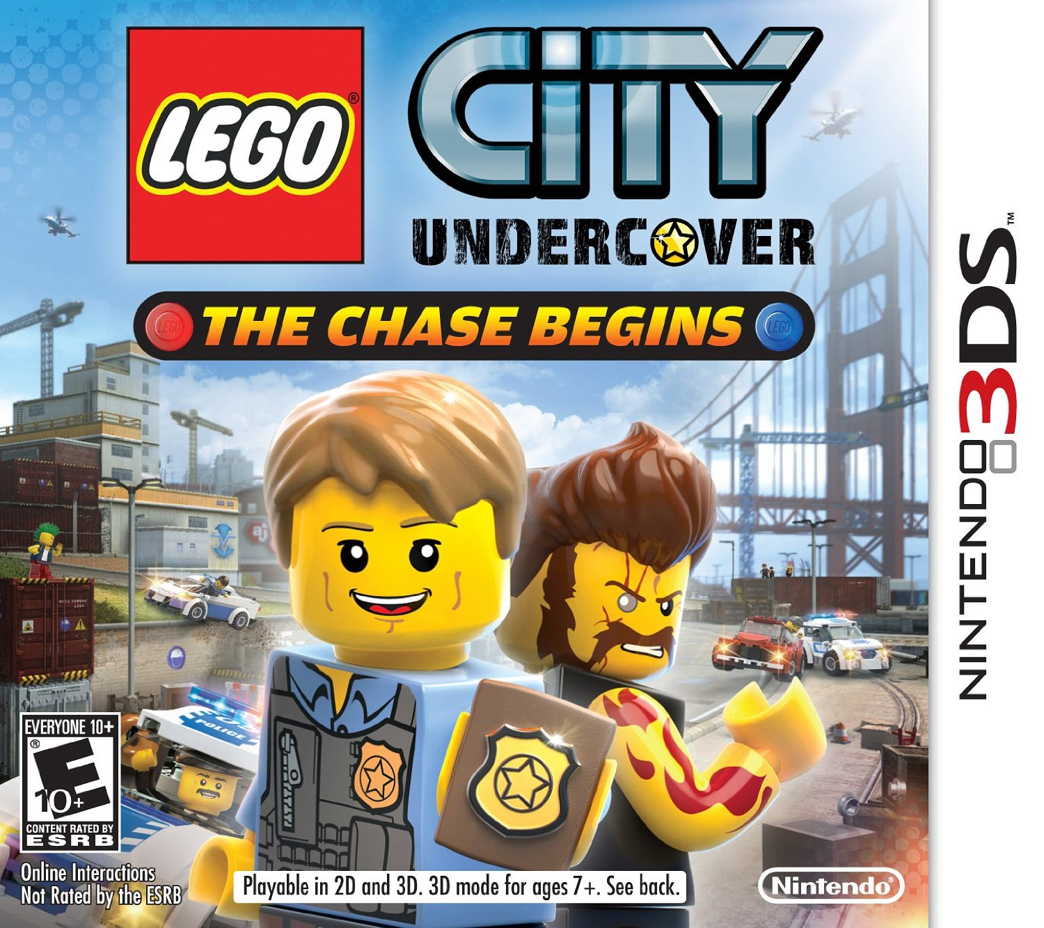 Lego City Box art