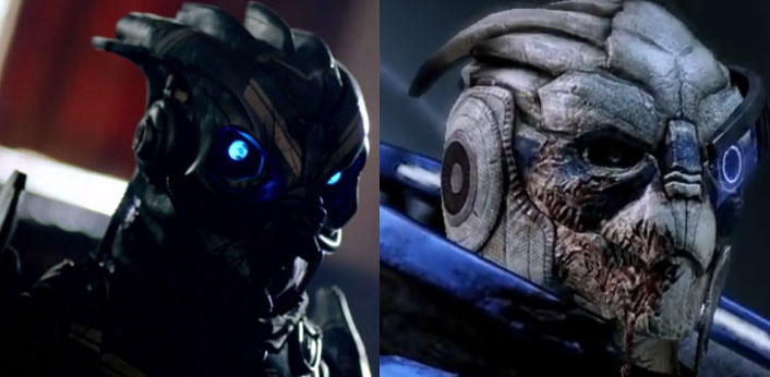 Doctor Who Garrus Mass Effect