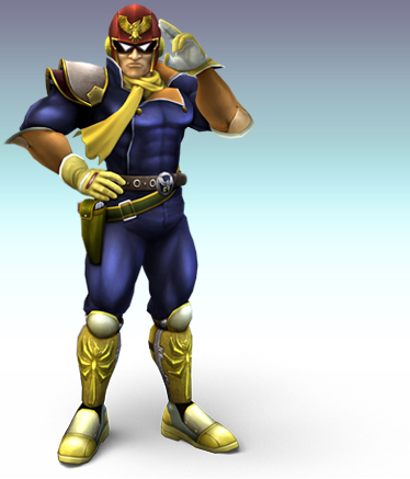 Captain Falcon from Smash Bros Brawl