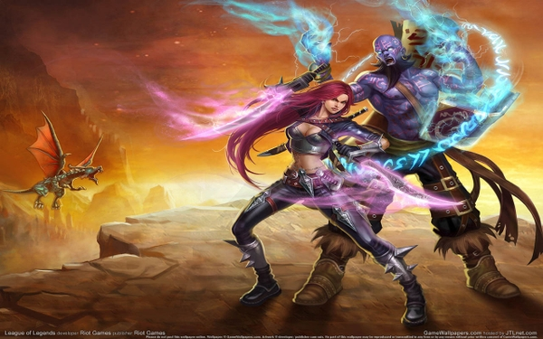 league of legends ryze katarina the sinister blade_www.wall321.com_9