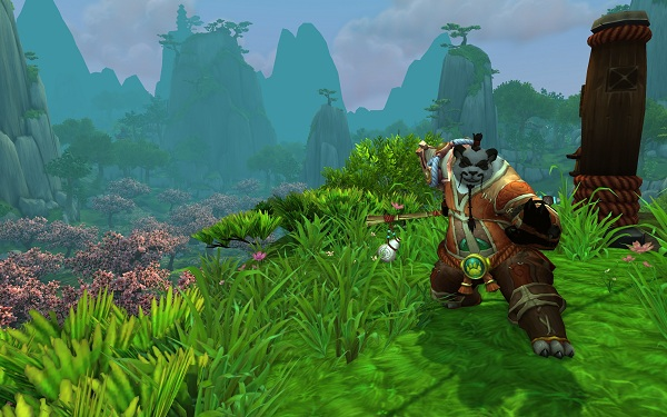World of Warcraft Pandas game