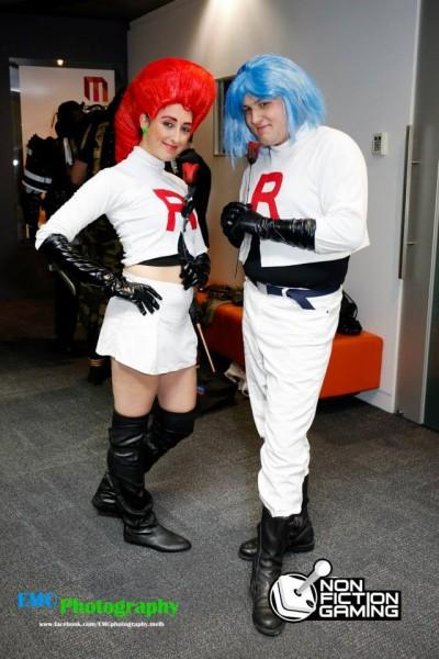 PAX Aus Team Rocket