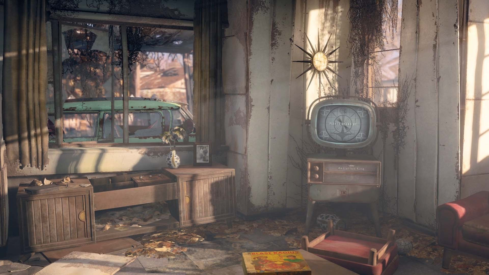 Fallout 4 screenshot comparison with fallout 3 side by side for Fallout 4 decorations