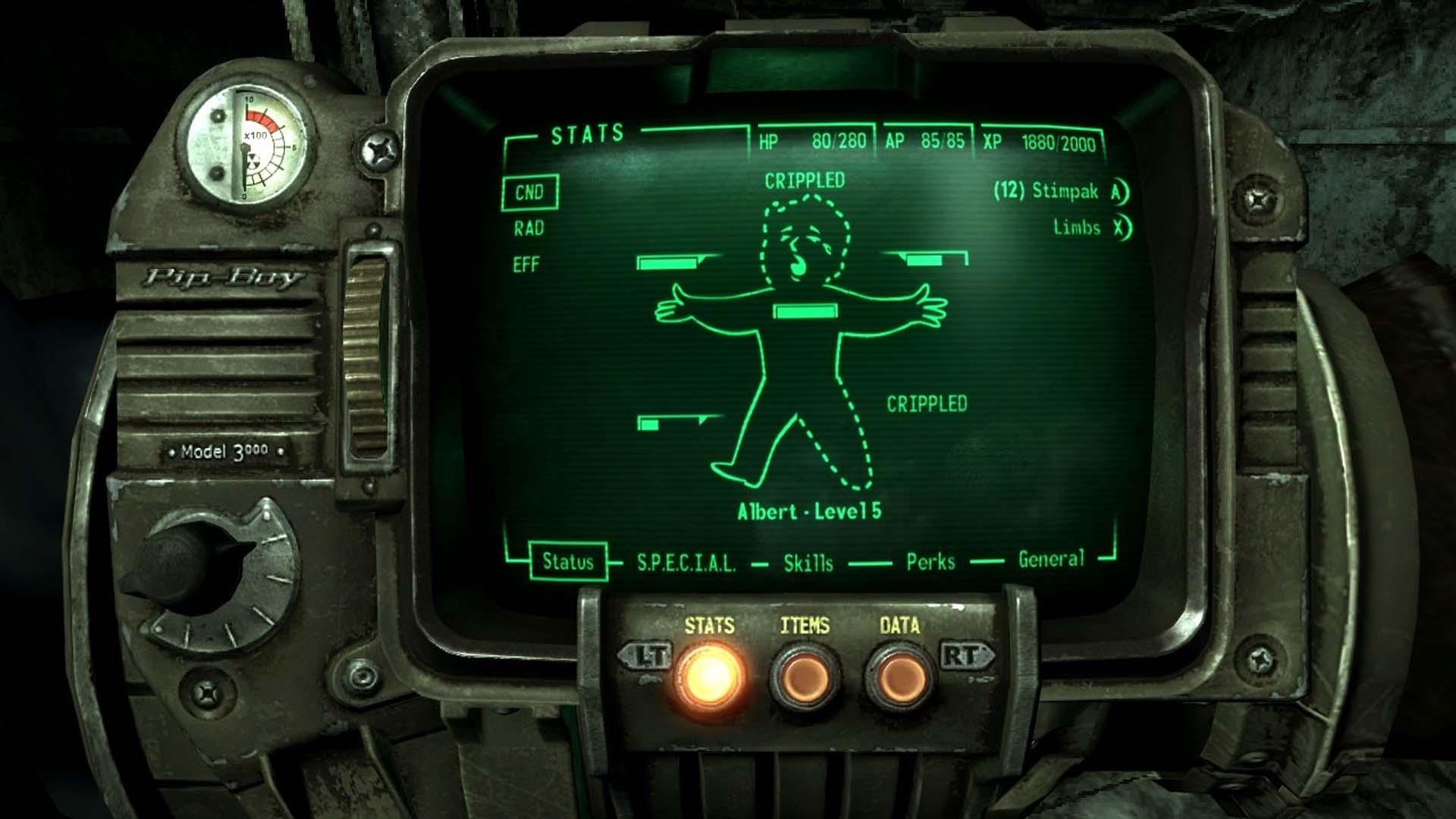 Fallout 3 Pipboy