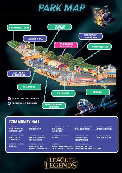 OPL Final Map & Schedule