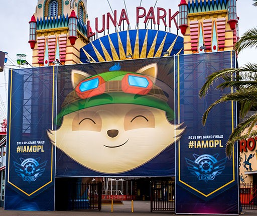 Teemo Face at Luna Park Resize