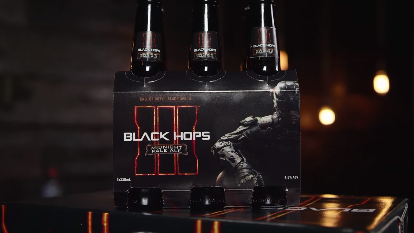 Call of Duty beer