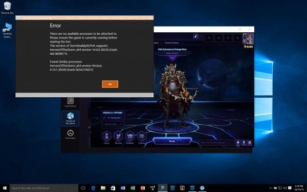 Stormbuddy in Heroes of the Storm Desktop