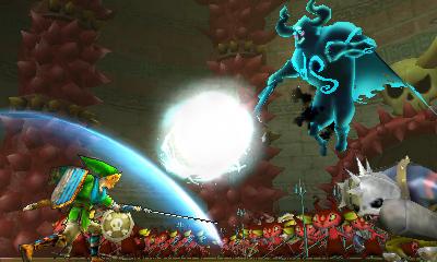 Hyrule Warriors Legends screenshot 3DS