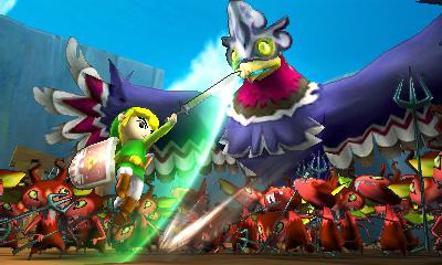 Hyrule Warriors Legends screenshot 3DS (5)