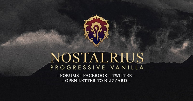Nostalrius Vanilla WoW