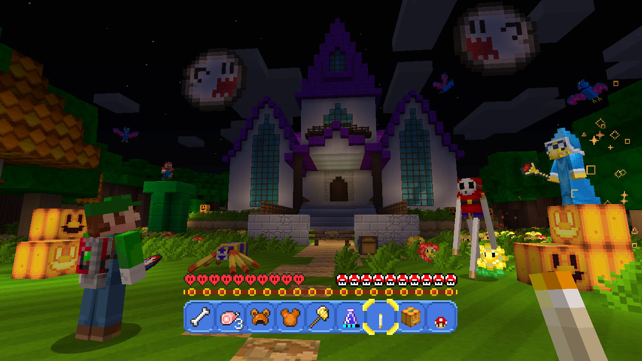 Minecraft: Wii U Edition Super Mario Luigis Mansion