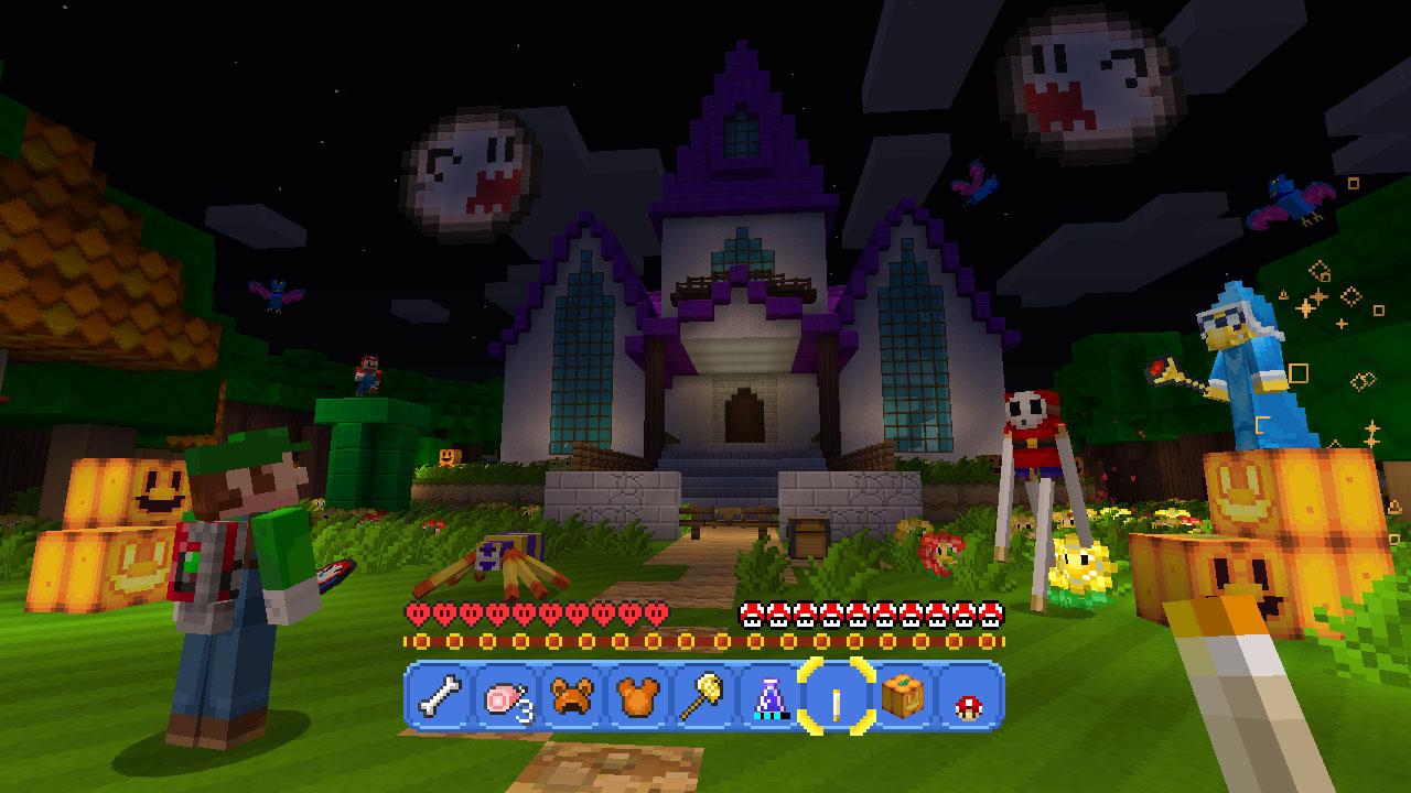 Minecraft: Wii U Edition Super Mario Luigis Mansion