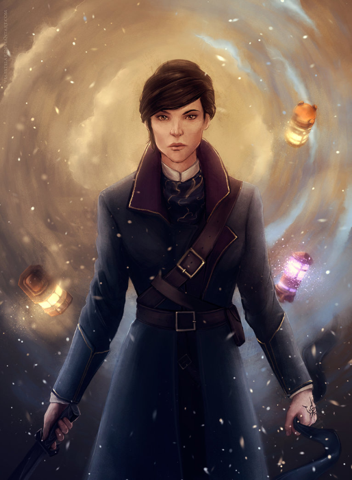 Dishonored 2 art emily by ViaEstelar