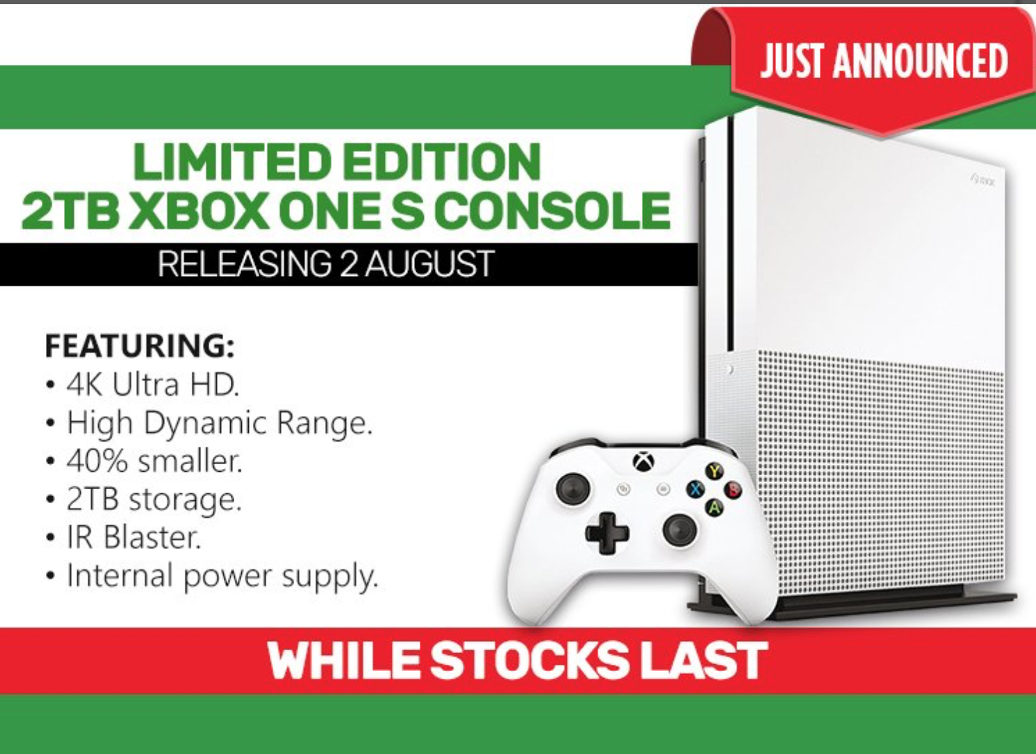Xbox one s launch edition