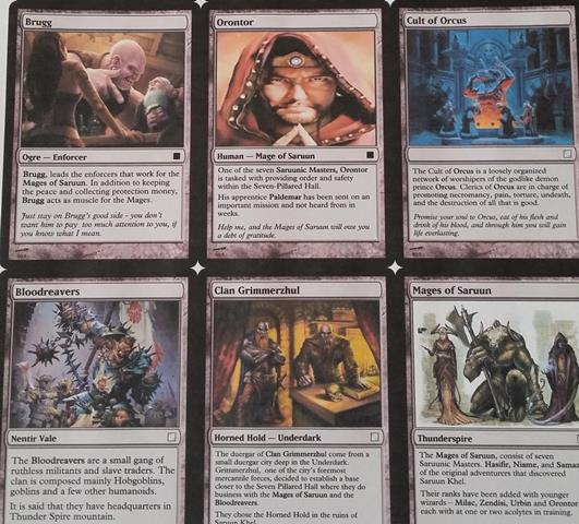 D&D Custom Cards