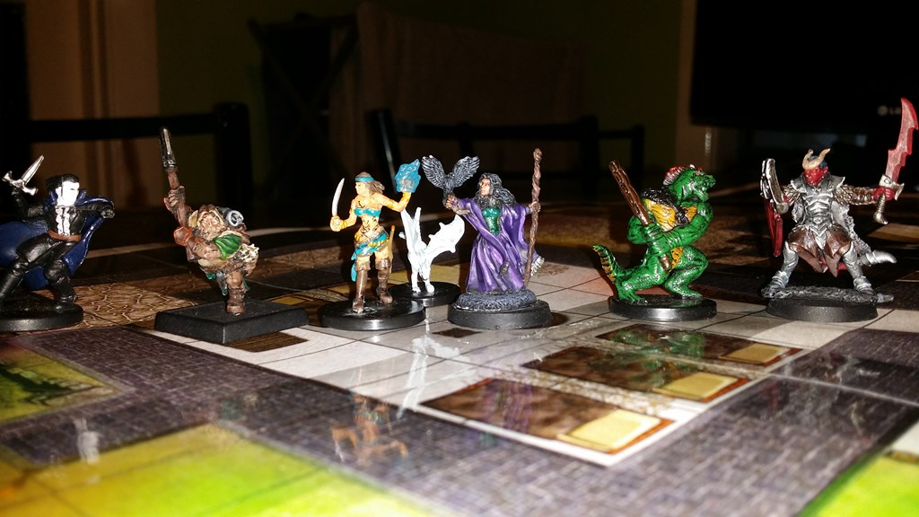 Miniatures Tabletop rpg