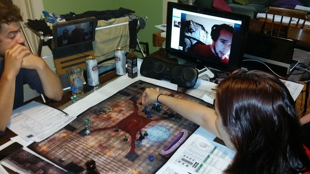 Playing D&D Over the Internet