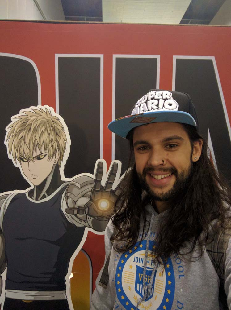 Madman - one punch ready to quest with genos