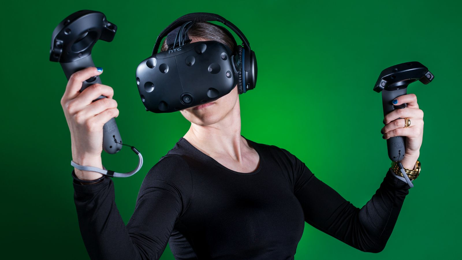 HTC Vive VR device