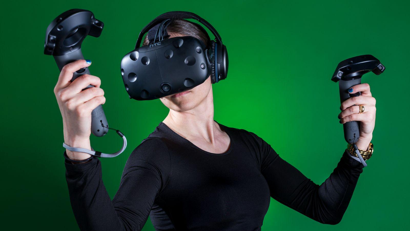 HTC Vive VR device