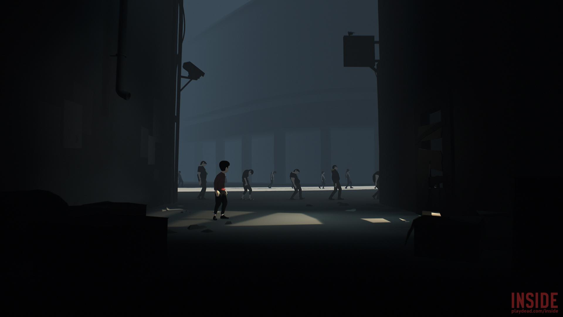 inside zombie people