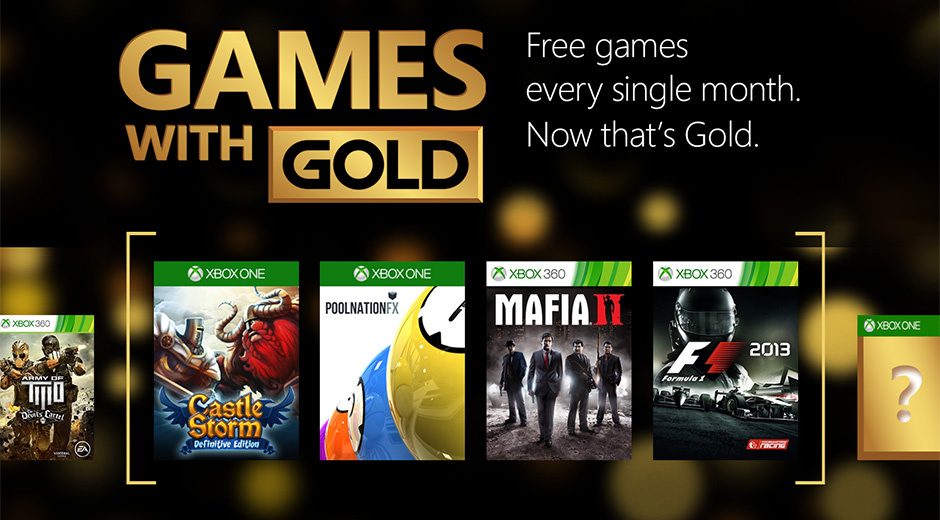 xbox live gold list of free games