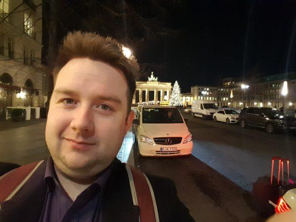 Daniel Ryan in Berlin