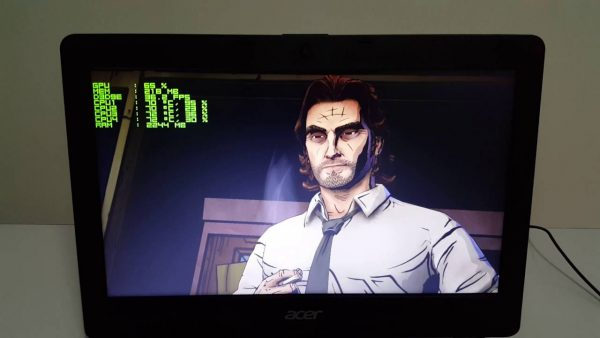 Wolf Among us on Laptop
