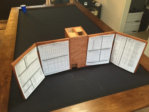 Behind DM Screen