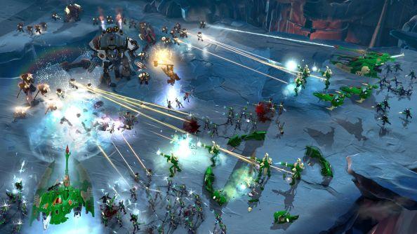eldar space marine dow 3 battle