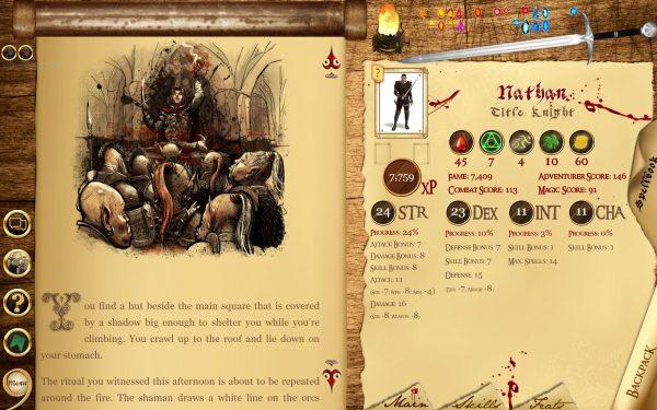 Narborion Saga reading_screen_1