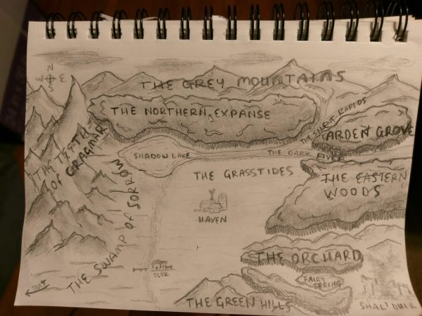 West Marches drawn Map
