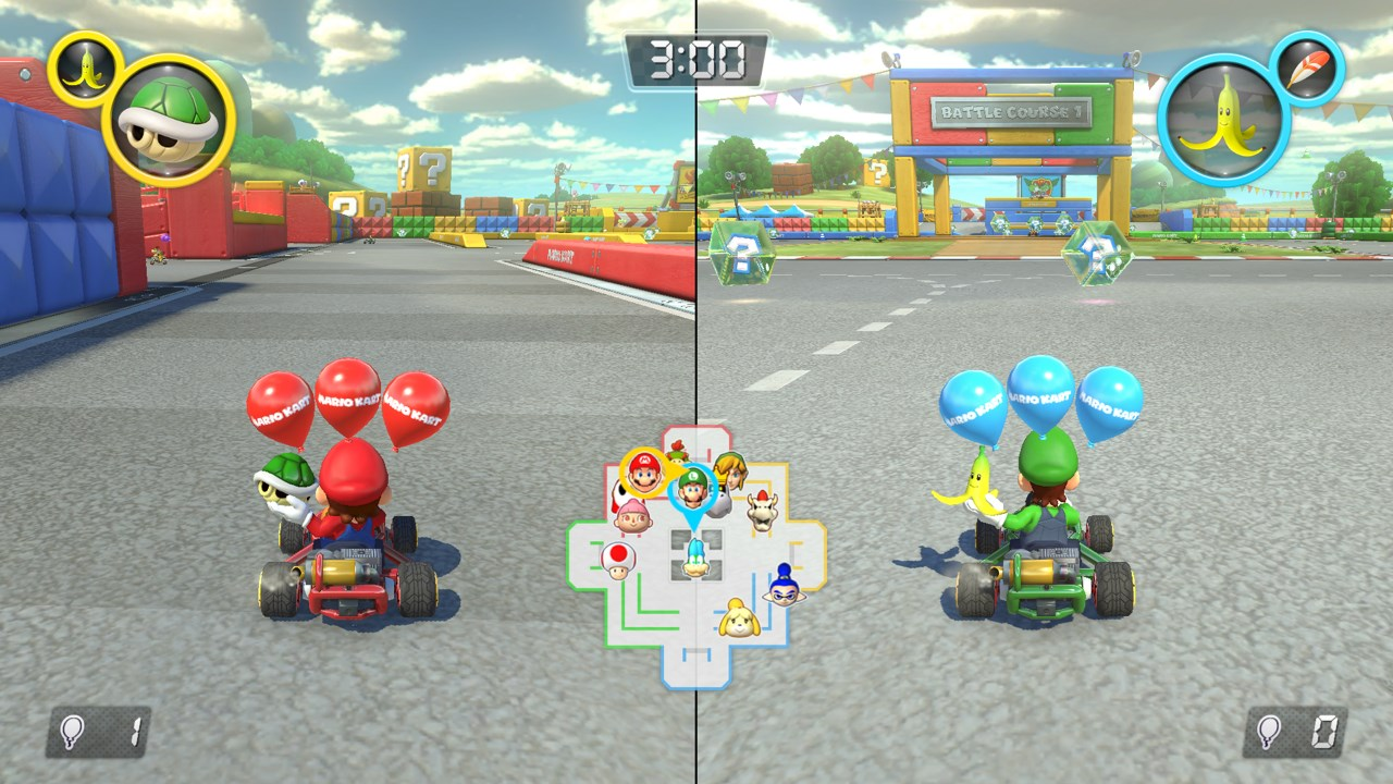 Mario Kart 8 Battle Mode