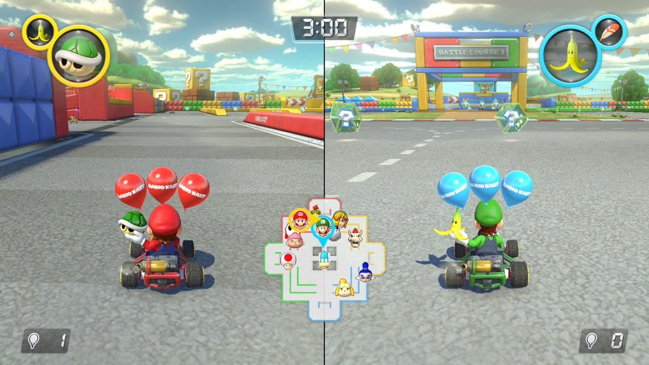 Mario Kart 8 Battle Mode