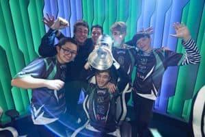 2017 OPL Split 2 Champions - Dire Wolves