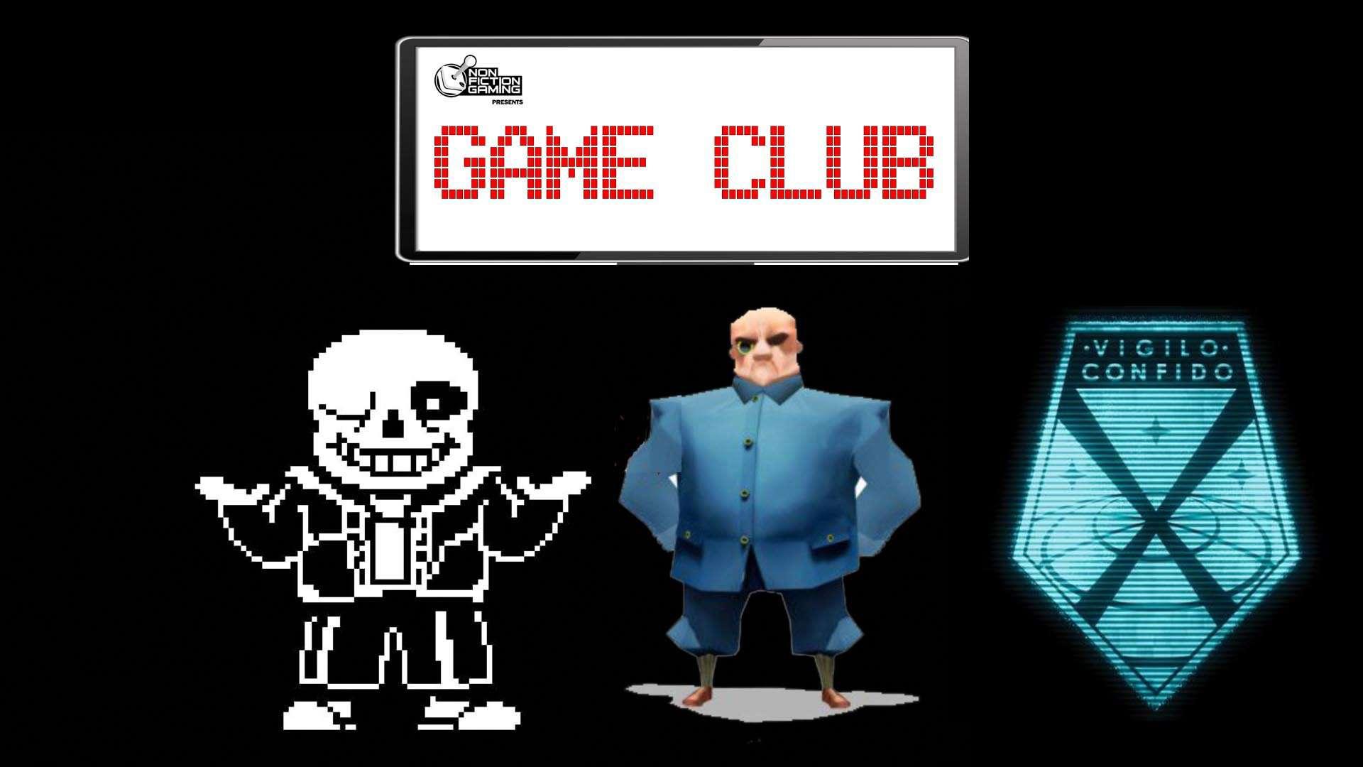 Game Club Undertale Poll