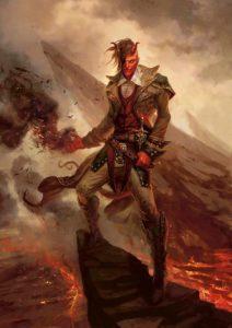 Warlock Fiend Tiefling